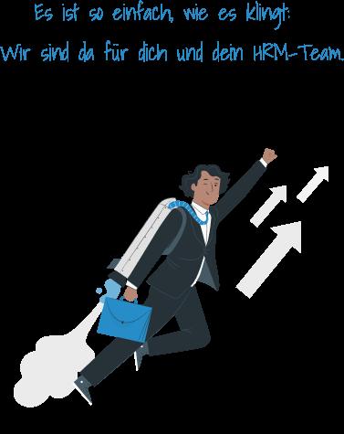 Wir supporten dein HRM Team Experten Agilität Recruiting